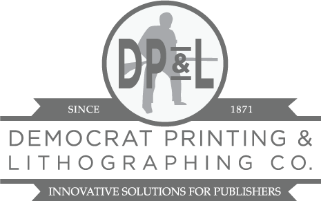 Democrat Printing and Lithographing Co. logo
